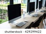 composite image of computer in... | Shutterstock . vector #429299422