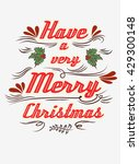 typographical greeting card.... | Shutterstock . vector #429300148