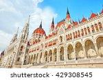 Hungarian Parliament Close Up....