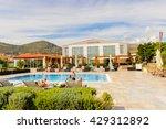 seget  croatia   aug 20  2014 ... | Shutterstock . vector #429312892
