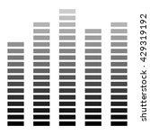 vector equalizer band.... | Shutterstock .eps vector #429319192