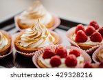 Sweet Basket With Cream And...
