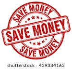 save money. stamp | Shutterstock .eps vector #429334162