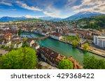 Luzern  Switzerland Top View