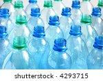 empty water bottles   Shutterstock . vector #4293715