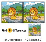 find differences  education... | Shutterstock .eps vector #429380662
