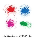 bright colorful banners with... | Shutterstock .eps vector #429383146