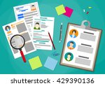 human resources management... | Shutterstock .eps vector #429390136