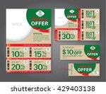 vector eco flyer  brochure ...   Shutterstock .eps vector #429403138