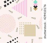 vector abstract seamless... | Shutterstock .eps vector #429410176