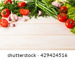 Fresh Vegetables Background ...