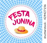 festa junina illustration  ... | Shutterstock .eps vector #429427156