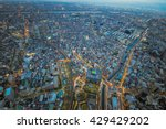 top view building from... | Shutterstock . vector #429429202