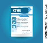 modern cover annual report... | Shutterstock .eps vector #429431068
