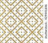 geometric seamless pattern of... | Shutterstock .eps vector #429441646