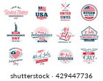 4th of july  united stated... | Shutterstock .eps vector #429447736