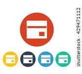 vector bank card icon