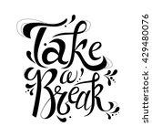 typography design for card.... | Shutterstock .eps vector #429480076