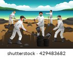 a vector illustration of people ... | Shutterstock .eps vector #429483682