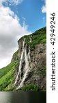 """norwegian waterfall"" | Shutterstock . vector #42949246"