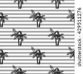 Palm Trees Seamless Vector...