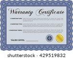 sample warranty. beauty design.