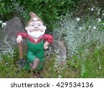 Garden Gnome With Shovel