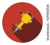 icon of construction jackhammer....
