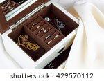 Jewelry Box With Jewelry On...