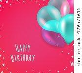 birthday card | Shutterstock .eps vector #429571615