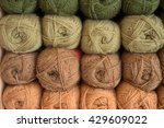 Stock Of Green And Brown Wool...