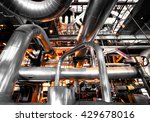 industrial zone  steel... | Shutterstock . vector #429678016