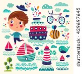 Summer Vector Illustration With ...