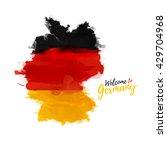 Symbol  Poster  Banner Germany. ...