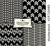 seamless abstract ethnic vector ... | Shutterstock .eps vector #429710485