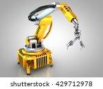 3d illustration of the... | Shutterstock . vector #429712978