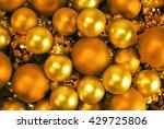 Christmas Background. Shiny...