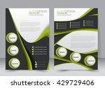 abstract flyer design... | Shutterstock .eps vector #429729406