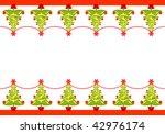 vector illustration of seamless ... | Shutterstock .eps vector #42976174