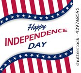 happy independence day vector... | Shutterstock .eps vector #429768592