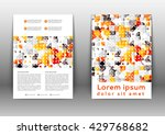 abstract colored brochure... | Shutterstock .eps vector #429768682