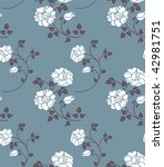 floral seamless | Shutterstock . vector #42981751