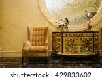 luxury lobby interior.with...   Shutterstock . vector #429833602