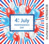 usa independence day colored... | Shutterstock . vector #429836038