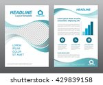 layout flyer template size a4... | Shutterstock .eps vector #429839158