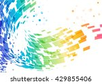colorful layout with the... | Shutterstock .eps vector #429855406