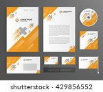 corporate identity branding... | Shutterstock .eps vector #429856552