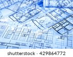 architectural project | Shutterstock . vector #429864772