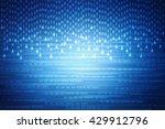 digital abstract business... | Shutterstock . vector #429912796