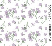 floral seamless pattern | Shutterstock .eps vector #429971002